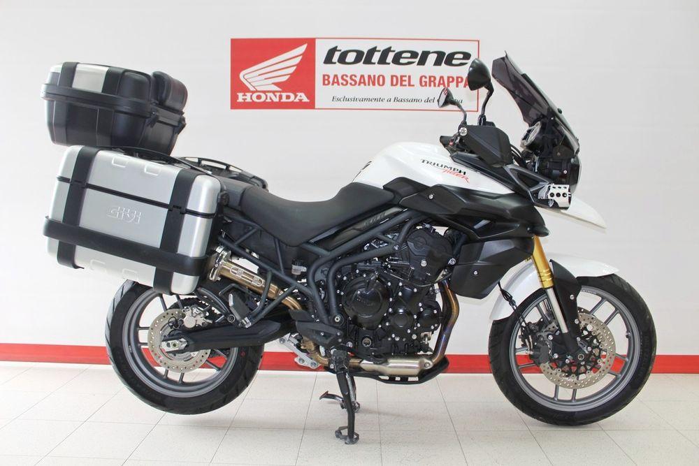 1650a70c7 Moto usate  TRIUMPH TIGER 800 ABS ACCESSORIATO